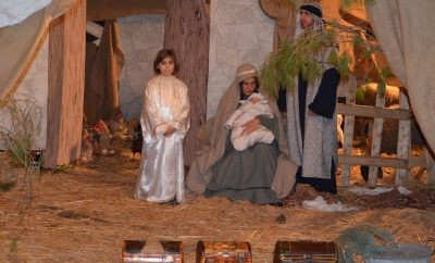 Living nativity scenes